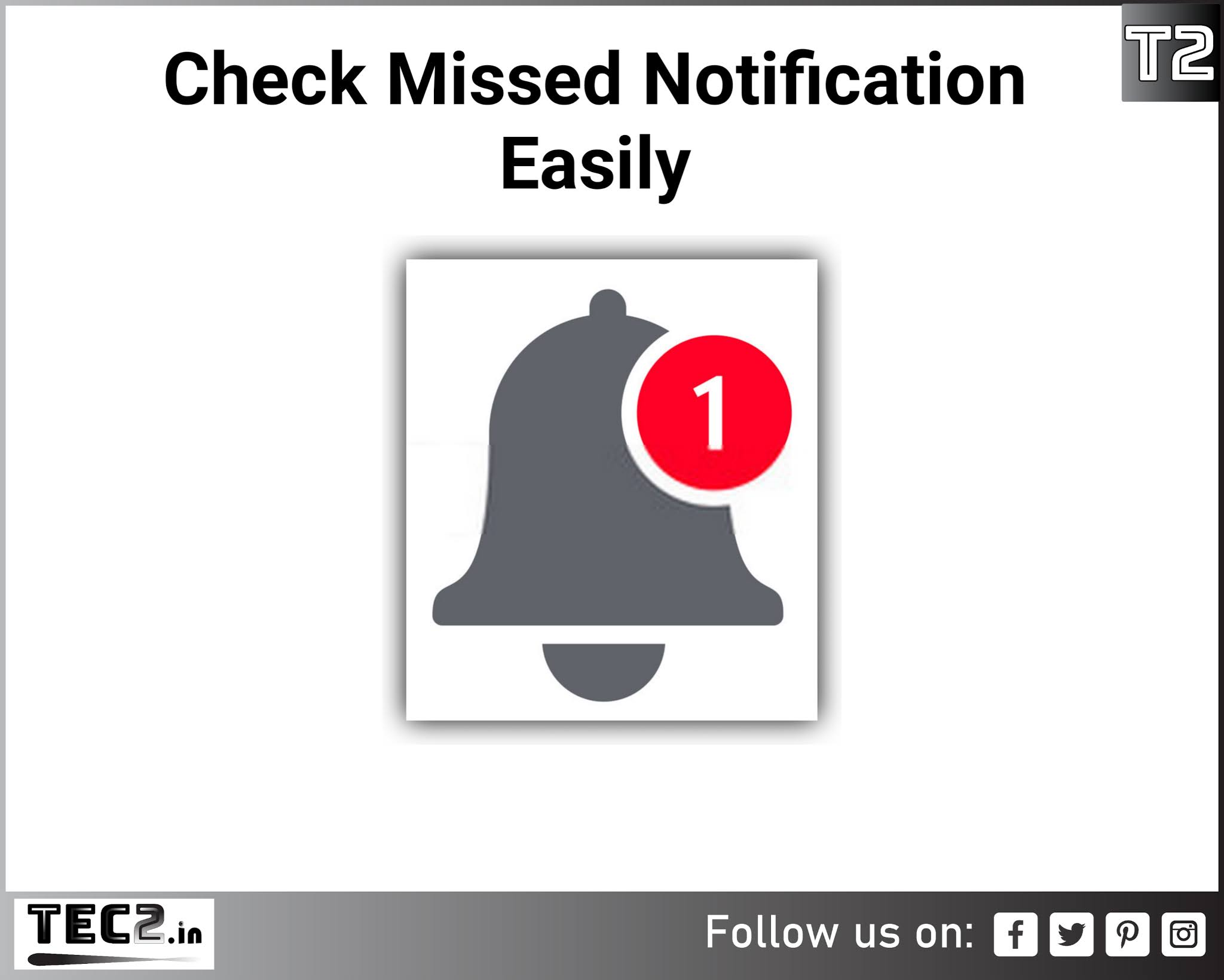 How to Checked Missed notifications easily: tec2.in