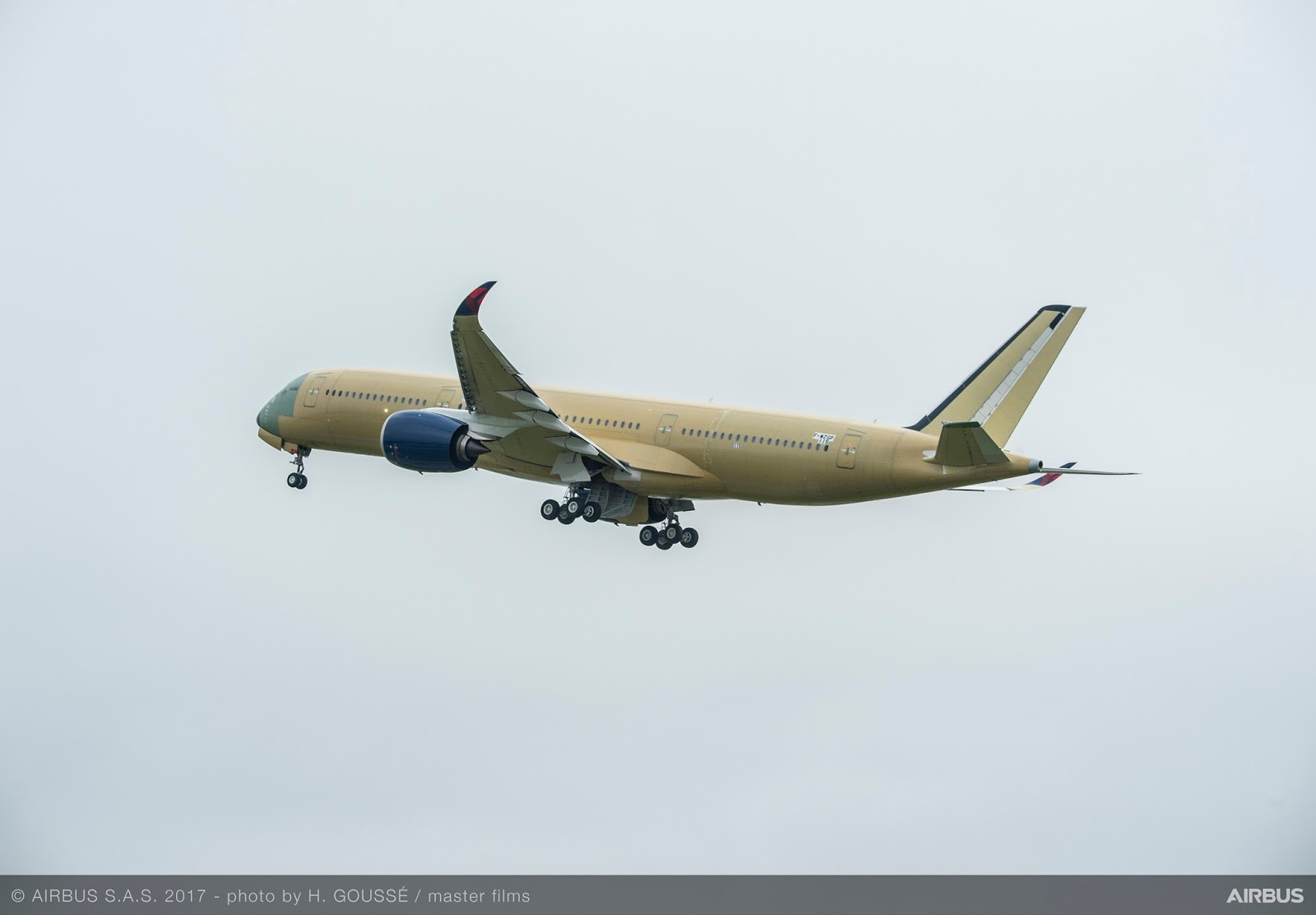 Delta's first A350 fly for the first time