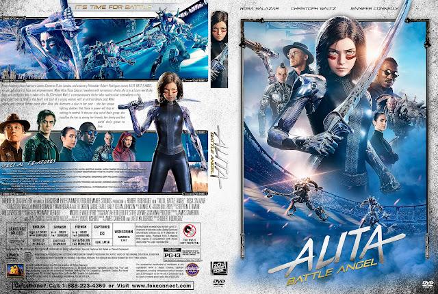 Alita: Battle Angel DVD Cover