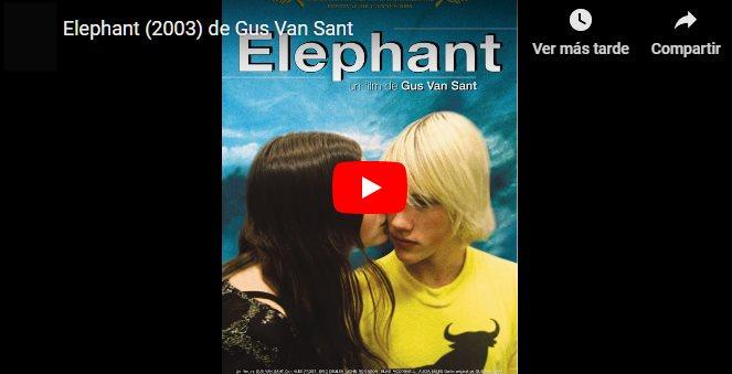 CLIC PARA VER VIDEO Elefante - Elephant - PELICULA - EEUU - 2003