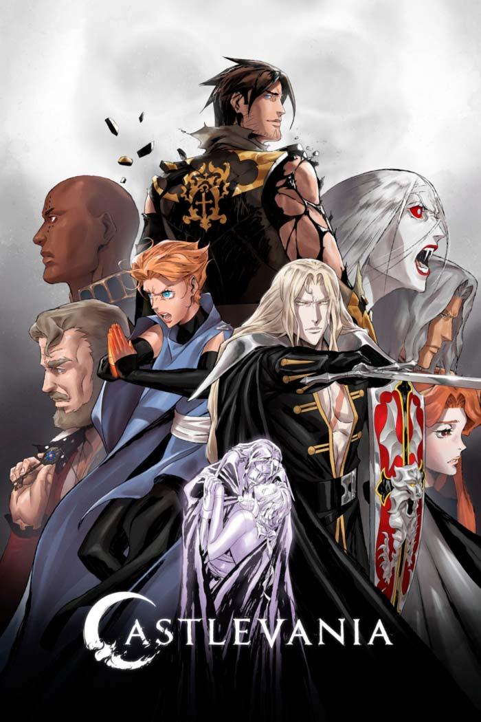 Castlevania anime - Temporada 4 - Netflix - poster