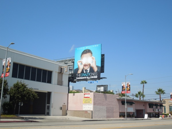 The Crazy Ones billboard