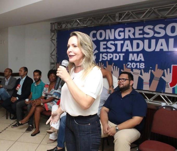 A Vice - Presidente Nacional e presidente Estadual da Ação da Mulher Trabalhista - PDT KARIADINE MAIA, convida todas as Mulheres que participam e gostam da política para.............
