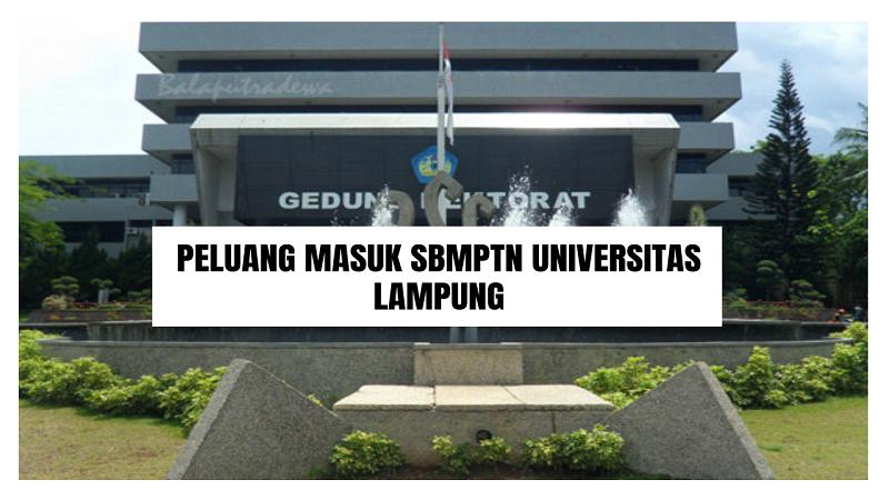 Peluang Masuk SBMPTN UNILA 2021/2022 (Universitas Lampung)