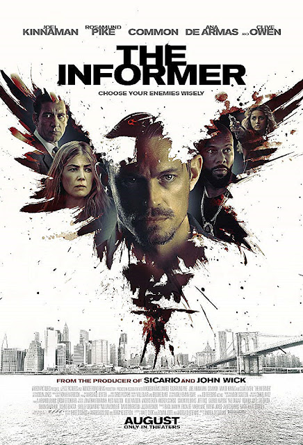 Sinopsis Film The Informer (2019) - Joel Kinnaman, Rosamund Pike