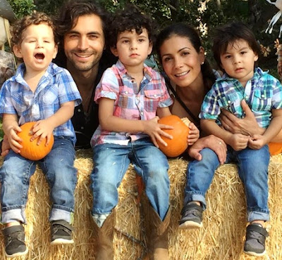 Foto de Patricia Manterola feliz con sus amores