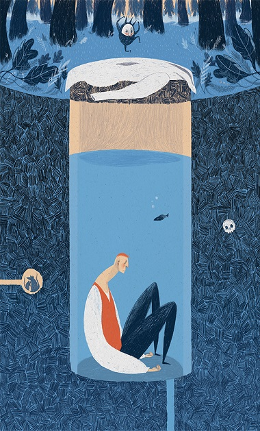 2 How Quest sought the Truth ilustracion por Anja Susanj