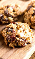 Spiced Almond Breakfast Cookies