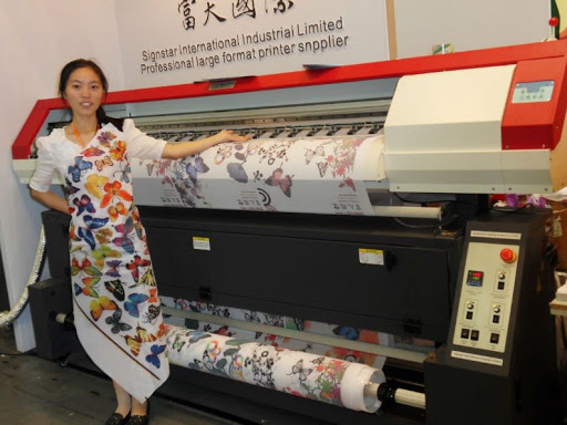 The Process Of Digital Printing On Fabric