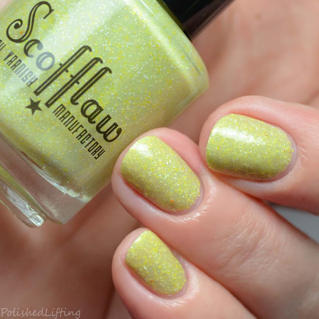 yellow nail polish