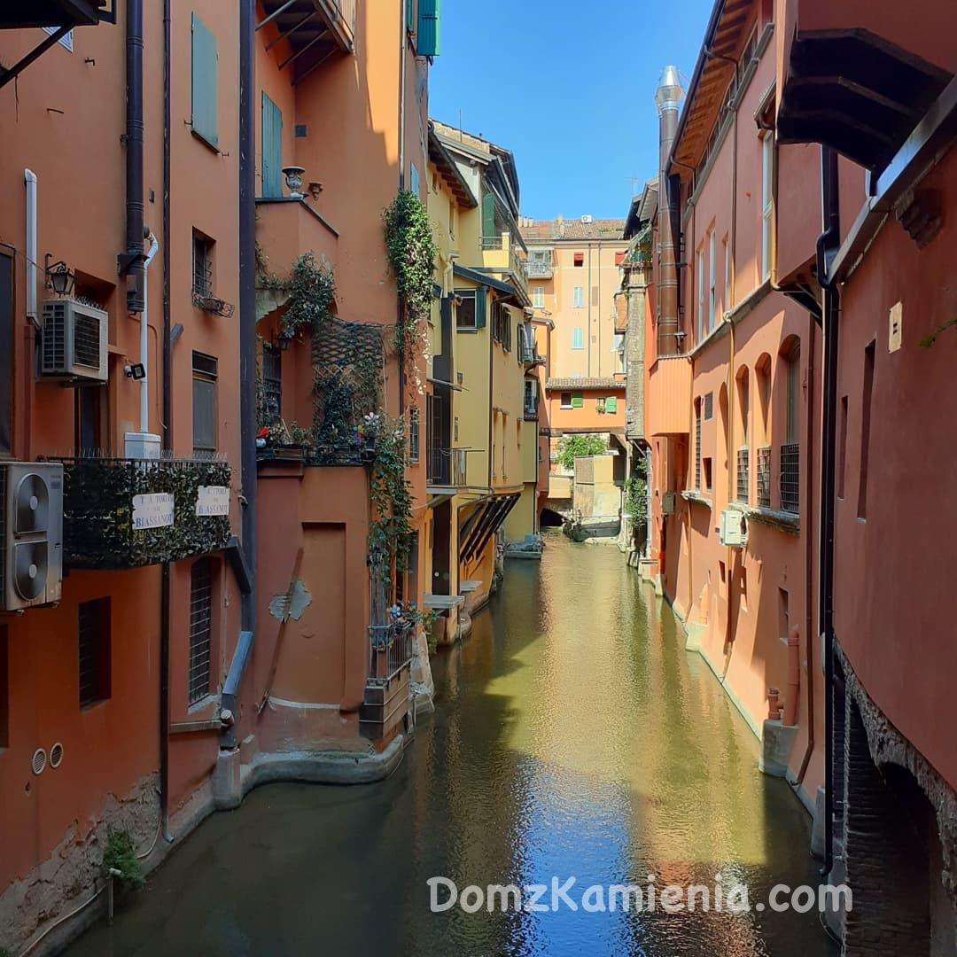 Dom z Kamienia blog, Bologna