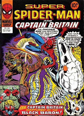 Super Spider-Man and Captain Britain #236, Stegron
