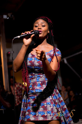 eShun Thrills Audience At Fetu Afahye