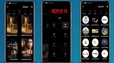 RedFlix TV v1.0.9 Apk