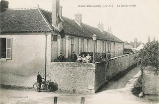 La gendarmerie de Cour-Cheverny au début du 20ème siècle