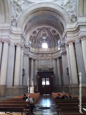 Nave central, Igreja dos Santos Luca e Martina