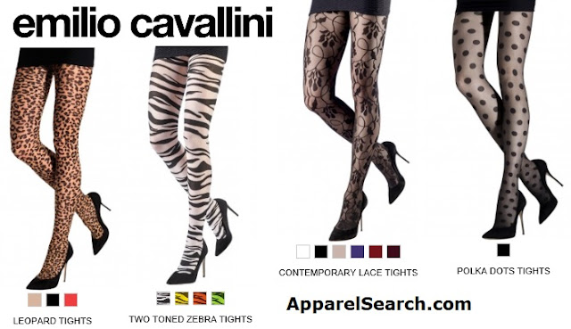 emilio cavallini tights collection