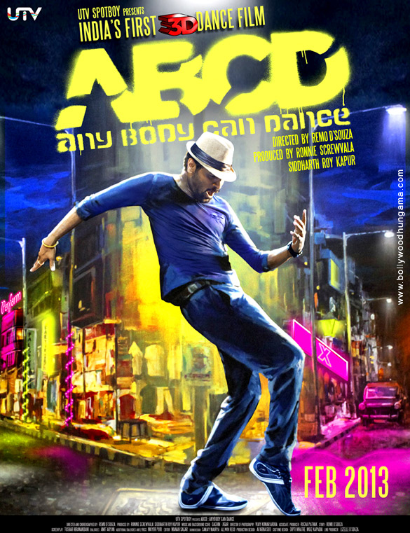 ABCD ( Any Body Can Dance ) - Poster (2012)
