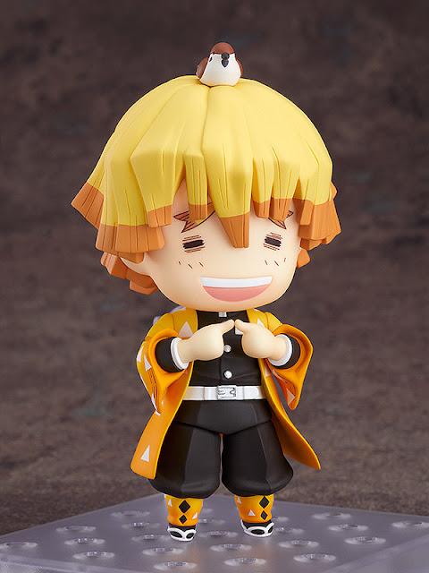 Figuras: Adorable nendoroid de Zenitsu de Kimetsu no Yaiba - Good Smile Company