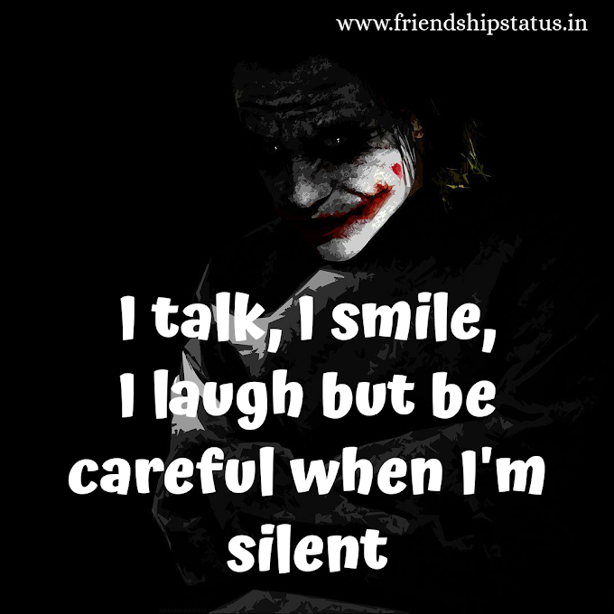50 Best Iconic The Joker Quotes Images