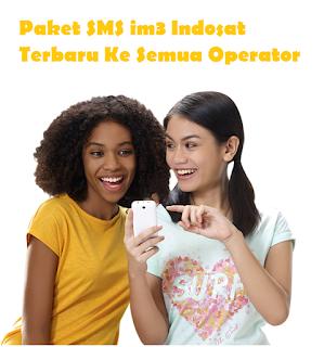 Cara Daftar Paket SMS im3 Indosat Terbaru Ke Semua Operator