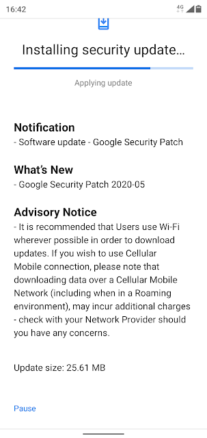 Nokia 5.1 Plus receiving May 2020 Android Security patch