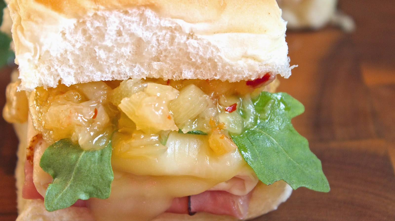 The Ultimate Hawaiian Slider