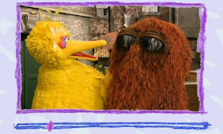 Big Bird says that sometimes friends can argue too, and that he and Snuffy sometimes argue. Sesame Street Elmo's World Friends Video E-Mail