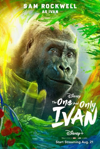 The One And Only Ivan (Web-DL 1080p Dual Latino / Ingles) (2020)