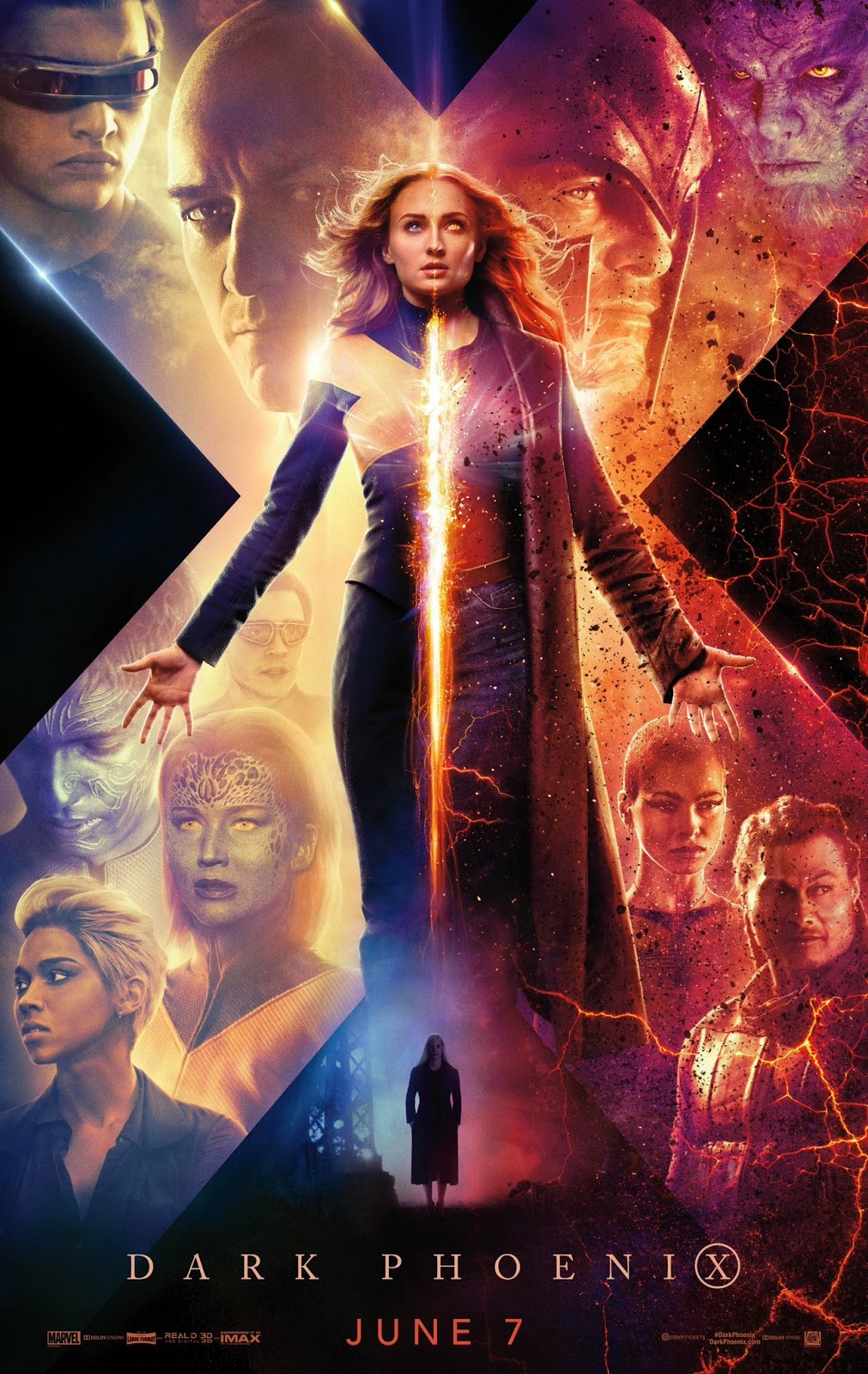 Capa do Filme X-Men: Fênix Negra