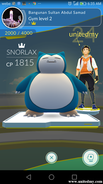 Bangunan Sultan Abdul Samad Pokemon Gym