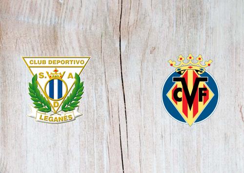 Leganes vs Villarreal -Highlights 14 September 2019
