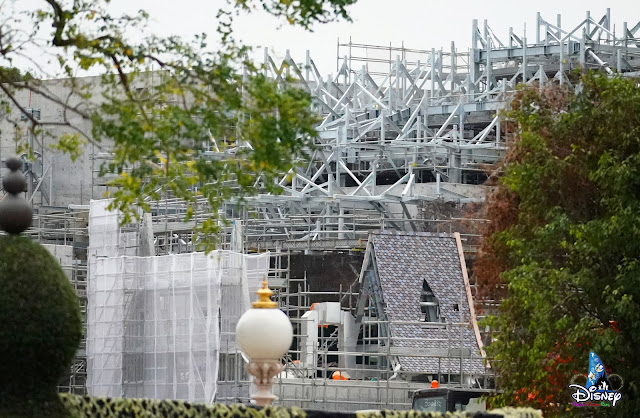 Construction-Updates-of-the-Arendelle-World of-Frozen-April-2021, HKDL 擴建直擊報導2021年4月號魔雪奇緣世界