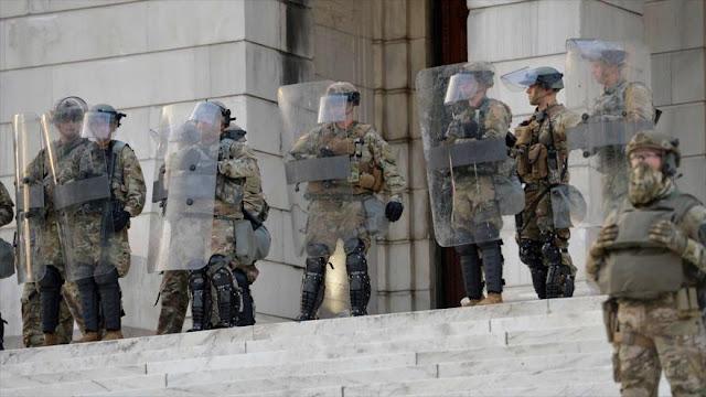 EEUU despliega 43 300 efectivos de Guardia Nacional en las calles