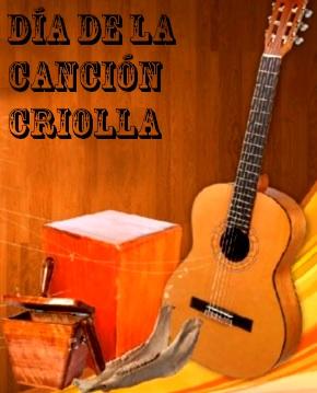 Imagen alusivo al Día de la canción criolla