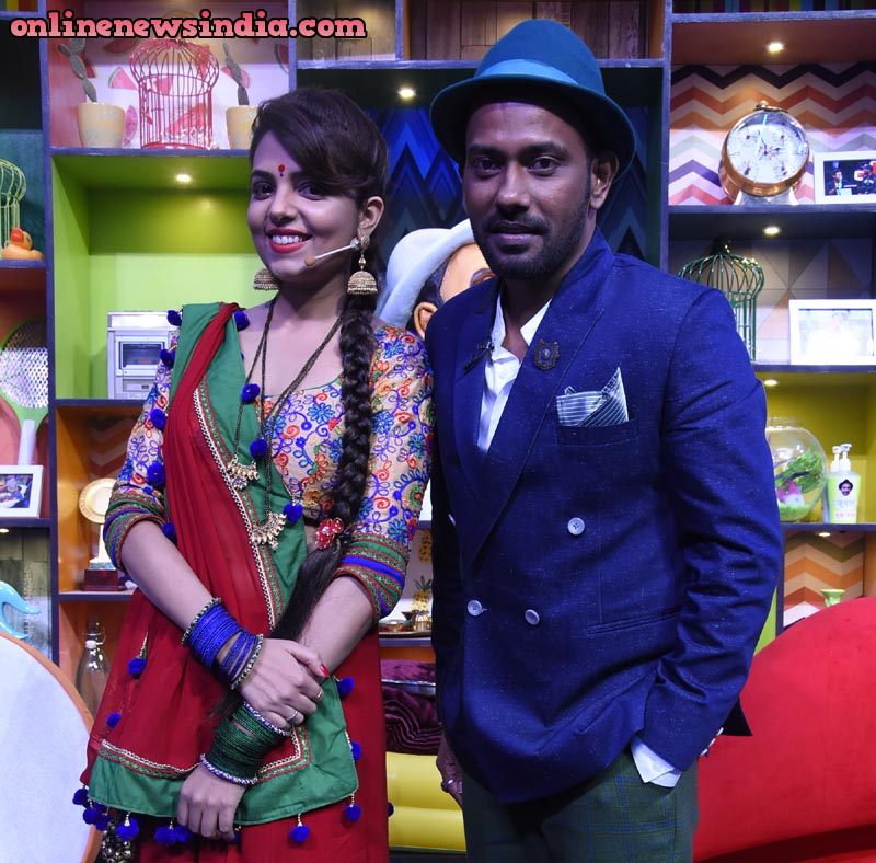 Sugandha Mishra and Dharmesh Yelande