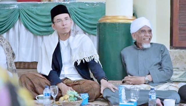 NW dan NU Bersatu Menangkan Duet Jokowi-KH Ma'ruf Amin di NTB