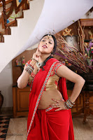 Galata Heroine Hari priya Hot in Red HeyAndhra