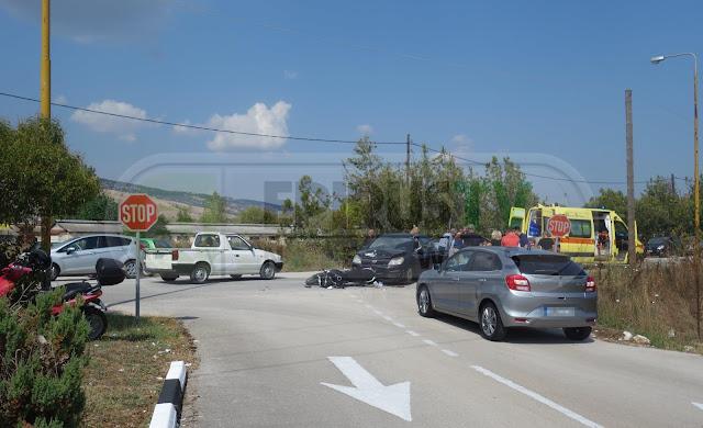 Γιάννενα: Σφοδρή Σύγκρουση ΙΧΕ Με Μοτοσικλέτα Στη Νιάρχου Βαριά Τραυματισμένος Ο Δικυκλιστής[Φωτό]