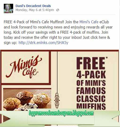 image about Mimi's Coupons Printable identify Free of charge Promo Codes and Coupon codes 2019: Mimis Restaurant Coupon codes