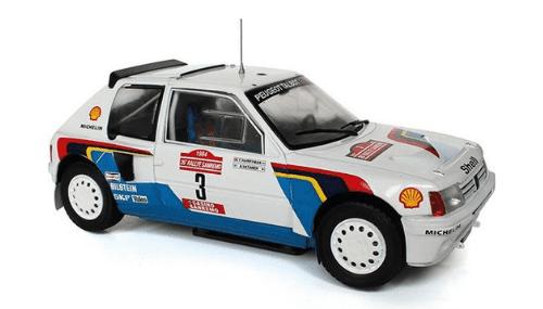 WRC collection 1:24 salvat españa, Peugeot 205 T16 1:24