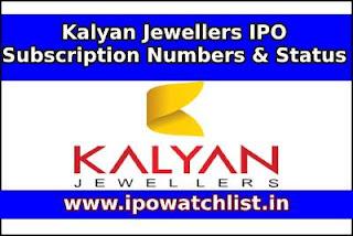 Kalyan jewellers ipo subscription status