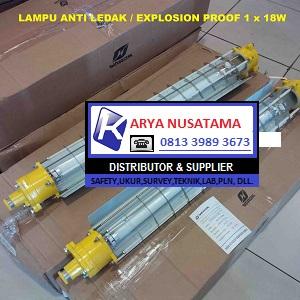 Jual Lampu TL Explo Anti Ledak  TL 1 x 18 Watt di Banyuwangi