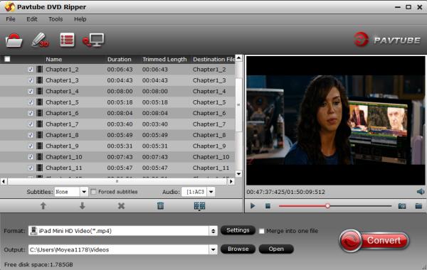 dvd to ipad mini 2 converter