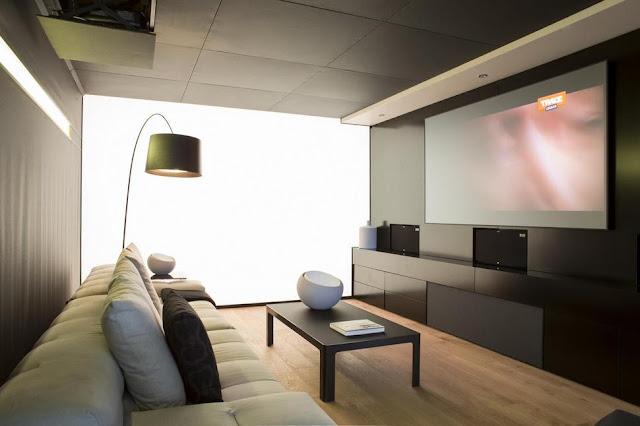 แบบห้องนั่งเล่นสำหรับดูทีวี