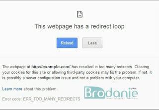 Cara Perbaiki Kesalahan Redirect Loop Di WordPress