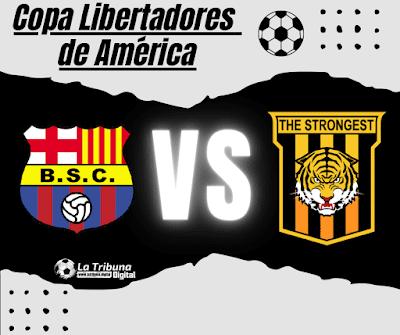 BARCELONA VS THE STRONGEST