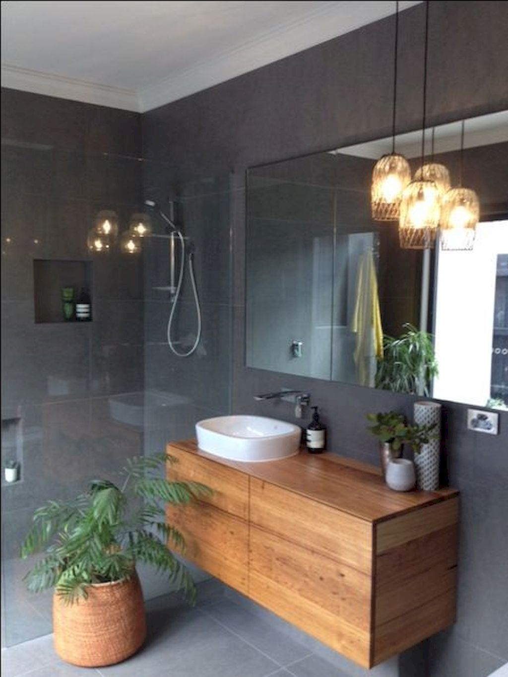 Clever Small Bathroom Decorating Idea