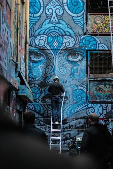 Grafiti Terbaik 2015 - Tembok China, cina