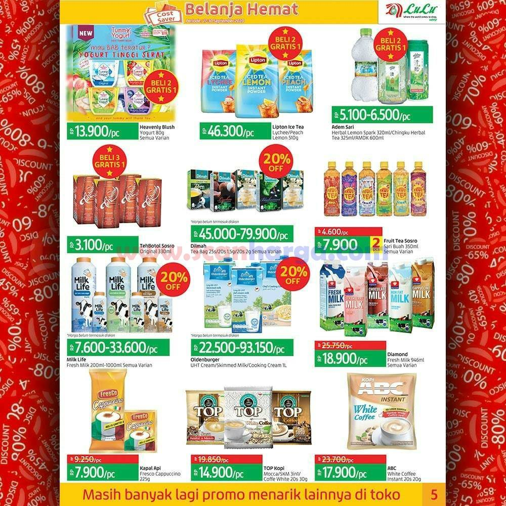 Katalog Promo LULU Supermarket 17 - 30 September 2020 5